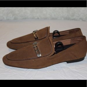Zara suede loafers!